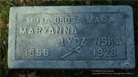 LYCZYNSKA, MARYANNA - Lucas County, Ohio | MARYANNA LYCZYNSKA - Ohio Gravestone Photos