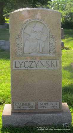 LYCZYNSKI, CASIMER J. - Lucas County, Ohio | CASIMER J. LYCZYNSKI - Ohio Gravestone Photos