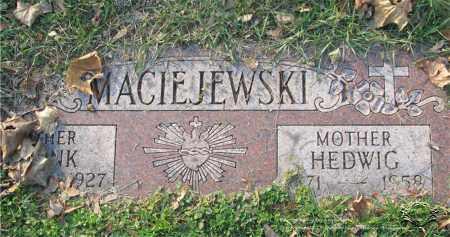 MACIEJEWSKI, FRANK - Lucas County, Ohio | FRANK MACIEJEWSKI - Ohio Gravestone Photos