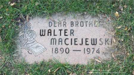 MACIEJEWSKI, WALTER - Lucas County, Ohio | WALTER MACIEJEWSKI - Ohio Gravestone Photos