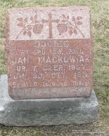 MACKOWIAK, JAN - Lucas County, Ohio | JAN MACKOWIAK - Ohio Gravestone Photos