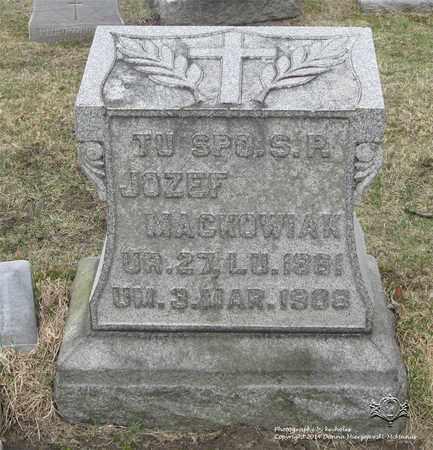 MACKOWIAK, JOZEF - Lucas County, Ohio | JOZEF MACKOWIAK - Ohio Gravestone Photos