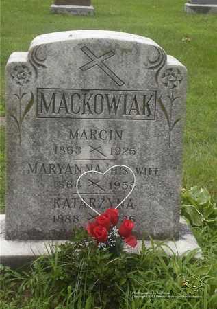 MACKOWIAK, KATARZYNA - Lucas County, Ohio | KATARZYNA MACKOWIAK - Ohio Gravestone Photos