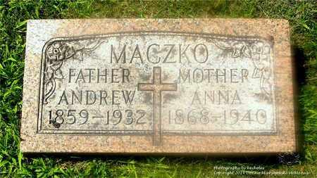 MACZKO, ANDREW - Lucas County, Ohio | ANDREW MACZKO - Ohio Gravestone Photos
