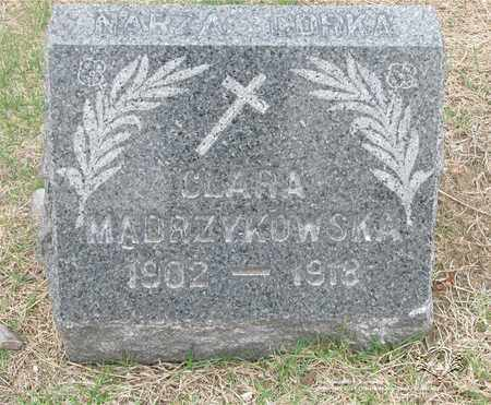 MADRZYKOWSKA, CLARA - Lucas County, Ohio | CLARA MADRZYKOWSKA - Ohio Gravestone Photos