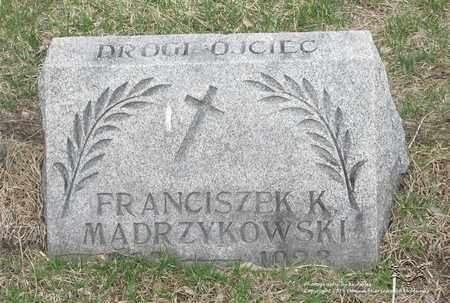MADRZYKOWSKI, FRANK K. - Lucas County, Ohio | FRANK K. MADRZYKOWSKI - Ohio Gravestone Photos