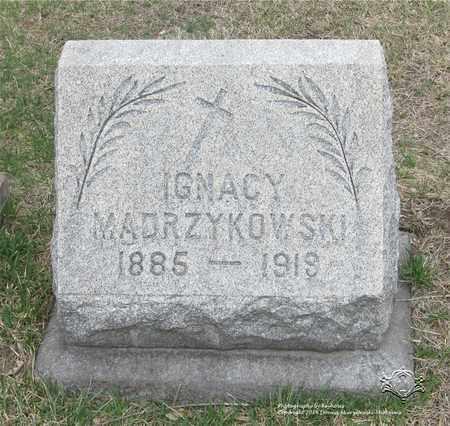 MADRZYKOWSKI, IGNACY - Lucas County, Ohio | IGNACY MADRZYKOWSKI - Ohio Gravestone Photos