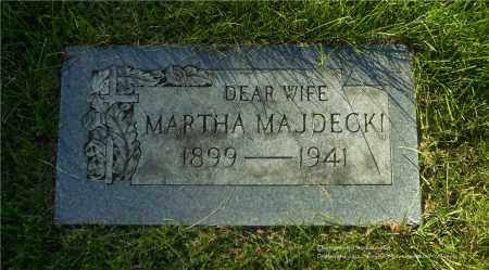 MAJDECKI, MARTHA - Lucas County, Ohio | MARTHA MAJDECKI - Ohio Gravestone Photos