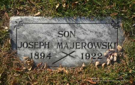 MAJEROWSKI, JOSEPH - Lucas County, Ohio | JOSEPH MAJEROWSKI - Ohio Gravestone Photos