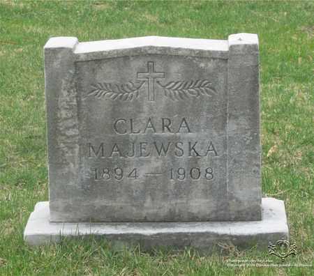MAJEWSKA, CLARA - Lucas County, Ohio | CLARA MAJEWSKA - Ohio Gravestone Photos