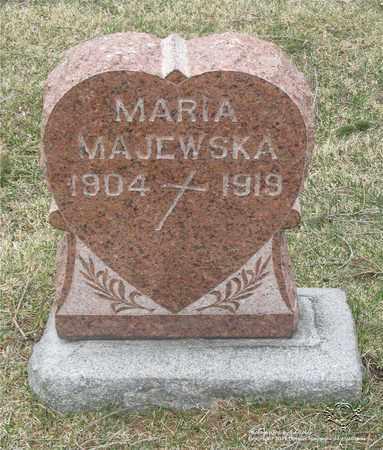 MAJEWSKA, MARIA - Lucas County, Ohio | MARIA MAJEWSKA - Ohio Gravestone Photos