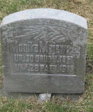 MAJEWSKA, MONIKA - Lucas County, Ohio | MONIKA MAJEWSKA - Ohio Gravestone Photos