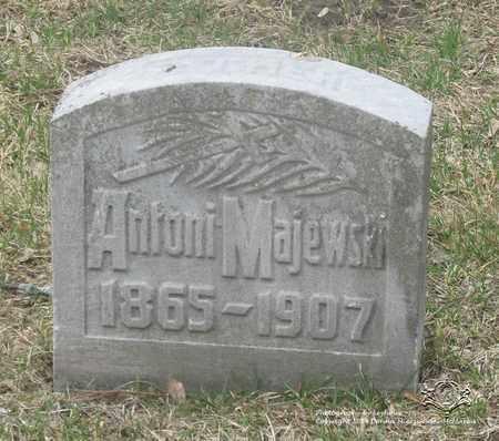 MAJEWSKI, ANTONI - Lucas County, Ohio | ANTONI MAJEWSKI - Ohio Gravestone Photos