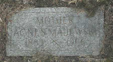 MAJEWSKI, AGNES - Lucas County, Ohio | AGNES MAJEWSKI - Ohio Gravestone Photos
