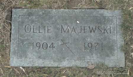 MAJEWSKI, OLLIE - Lucas County, Ohio | OLLIE MAJEWSKI - Ohio Gravestone Photos