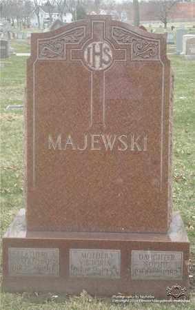 MAJEWSKI, VALENTINE - Lucas County, Ohio | VALENTINE MAJEWSKI - Ohio Gravestone Photos