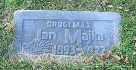 MAJKA, JAN - Lucas County, Ohio | JAN MAJKA - Ohio Gravestone Photos