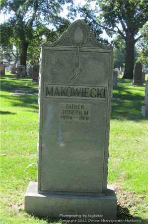 MAKOWIECKI, JOSEPH M. - Lucas County, Ohio | JOSEPH M. MAKOWIECKI - Ohio Gravestone Photos