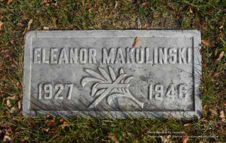 MAKULINSKI, ELEANOR - Lucas County, Ohio | ELEANOR MAKULINSKI - Ohio Gravestone Photos
