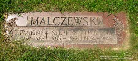 STRZESINSKI MIKOLAJCZYK MALCZE, PAULINE - Lucas County, Ohio | PAULINE STRZESINSKI MIKOLAJCZYK MALCZE - Ohio Gravestone Photos