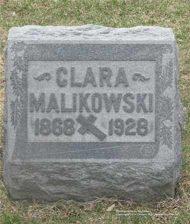 MALIKOWSKI, CLARA - Lucas County, Ohio | CLARA MALIKOWSKI - Ohio Gravestone Photos