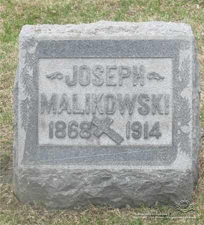 MALIKOWSKI, JOSEPH - Lucas County, Ohio | JOSEPH MALIKOWSKI - Ohio Gravestone Photos