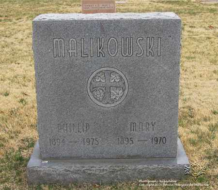 MALIKOWSKI, PHILLIP - Lucas County, Ohio | PHILLIP MALIKOWSKI - Ohio Gravestone Photos