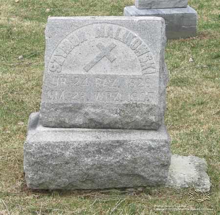 MALIKOWSKI, SZYMON - Lucas County, Ohio | SZYMON MALIKOWSKI - Ohio Gravestone Photos