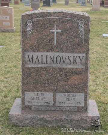 MALINOVSKY, MARY - Lucas County, Ohio | MARY MALINOVSKY - Ohio Gravestone Photos