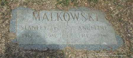 MALKOWSKI, ANGELINE - Lucas County, Ohio | ANGELINE MALKOWSKI - Ohio Gravestone Photos