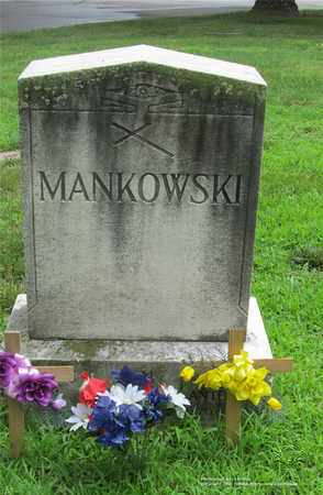 MANKOWSKI, ANTONINA - Lucas County, Ohio | ANTONINA MANKOWSKI - Ohio Gravestone Photos
