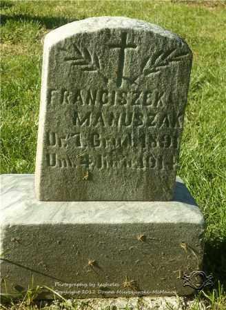 MANUSZAK, FRANCISZEK - Lucas County, Ohio | FRANCISZEK MANUSZAK - Ohio Gravestone Photos
