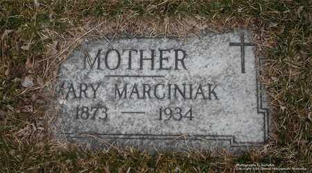 MARCINIAK, MARY - Lucas County, Ohio | MARY MARCINIAK - Ohio Gravestone Photos
