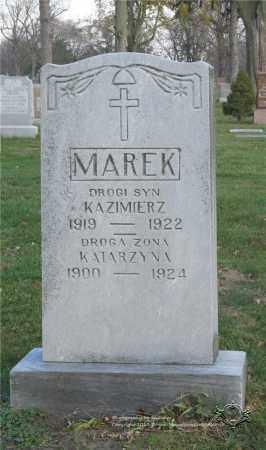 MAREK, KAZIMIERZ - Lucas County, Ohio | KAZIMIERZ MAREK - Ohio Gravestone Photos