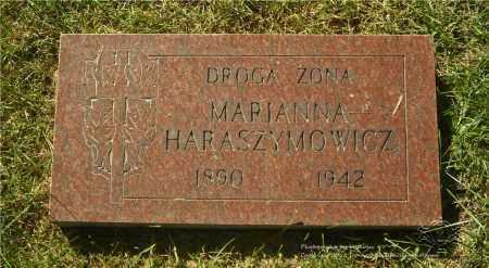 JANASZ HARASZYMOWICZ, MARIANNA - Lucas County, Ohio | MARIANNA JANASZ HARASZYMOWICZ - Ohio Gravestone Photos