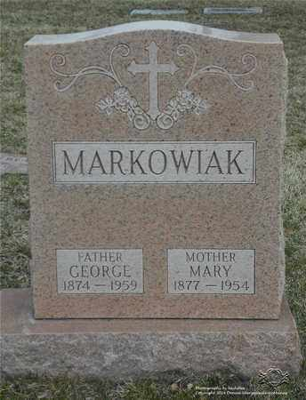 MARKOWIAK, GEORGE - Lucas County, Ohio | GEORGE MARKOWIAK - Ohio Gravestone Photos