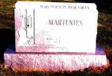 VOSS MARTENIES, MARY L. - Lucas County, Ohio | MARY L. VOSS MARTENIES - Ohio Gravestone Photos