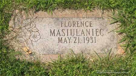 MASIULANIEC, FLORENCE - Lucas County, Ohio | FLORENCE MASIULANIEC - Ohio Gravestone Photos
