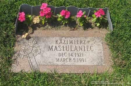 MASIULANIEC, KAZIMIERZ - Lucas County, Ohio | KAZIMIERZ MASIULANIEC - Ohio Gravestone Photos
