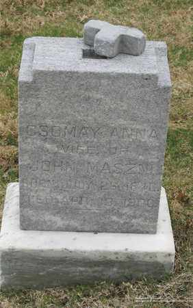 MASZMI, ANNA - Lucas County, Ohio | ANNA MASZMI - Ohio Gravestone Photos