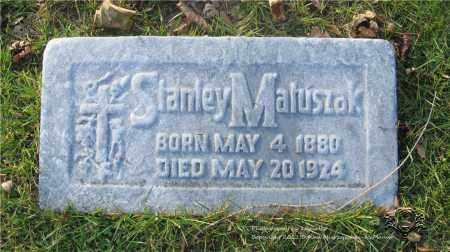 MATUSZAK, STANLEY - Lucas County, Ohio | STANLEY MATUSZAK - Ohio Gravestone Photos