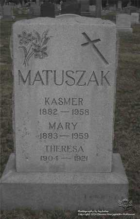 MATUSZAK, MARY - Lucas County, Ohio | MARY MATUSZAK - Ohio Gravestone Photos