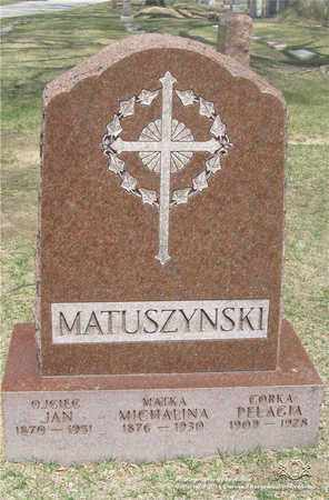 MATUSZYNSKI, MICHALINA - Lucas County, Ohio | MICHALINA MATUSZYNSKI - Ohio Gravestone Photos