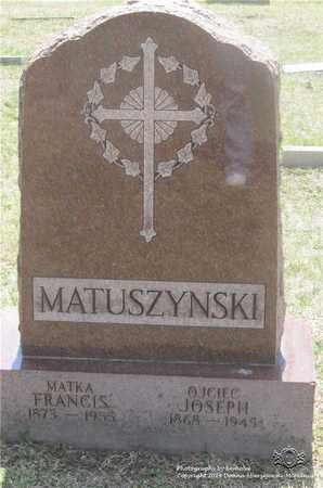 MATUSZYNSKI, FRANCIS - Lucas County, Ohio | FRANCIS MATUSZYNSKI - Ohio Gravestone Photos