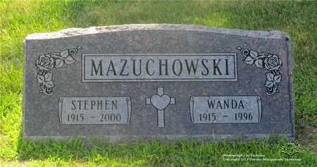 MAZUCHOWSKI, STEPHEN - Lucas County, Ohio | STEPHEN MAZUCHOWSKI - Ohio Gravestone Photos