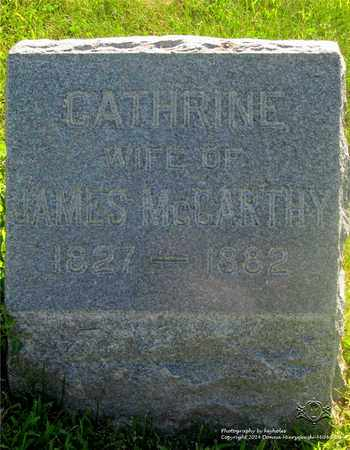 MCCARTHY, CATHERINE - Lucas County, Ohio | CATHERINE MCCARTHY - Ohio Gravestone Photos
