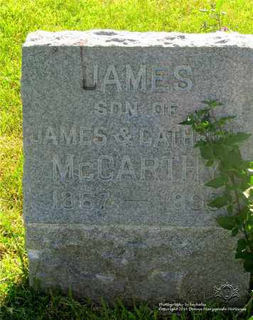MCCARTHY, JAMES - Lucas County, Ohio | JAMES MCCARTHY - Ohio Gravestone Photos