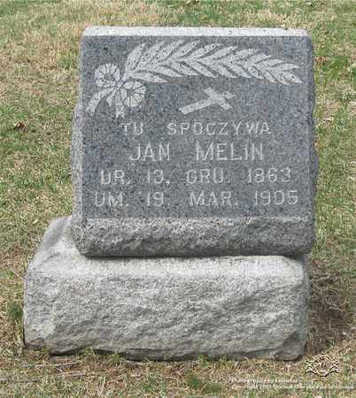 MELIN, JAN - Lucas County, Ohio | JAN MELIN - Ohio Gravestone Photos