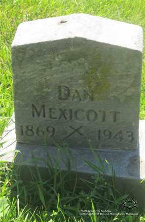 MEXICOTT, DAN - Lucas County, Ohio | DAN MEXICOTT - Ohio Gravestone Photos