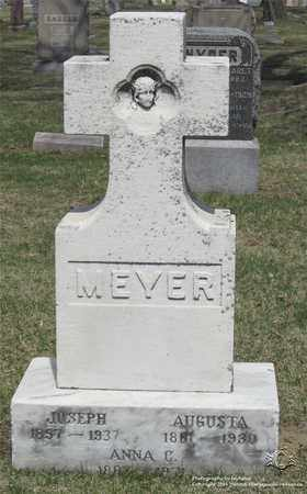 MEYER, AUGUSTA - Lucas County, Ohio | AUGUSTA MEYER - Ohio Gravestone Photos